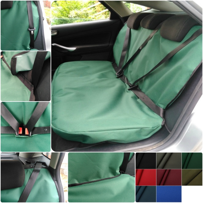 Green Onwards to fit Isuzu D-Max 2011 Titan Waterproof Car Back Seat Cover
