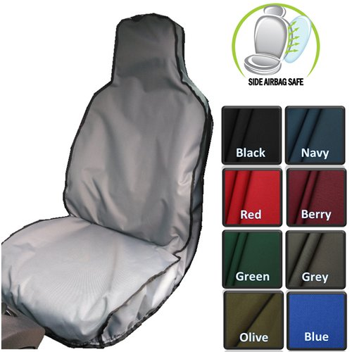 Car seat covers fit Peugeot 207 black//grey full set