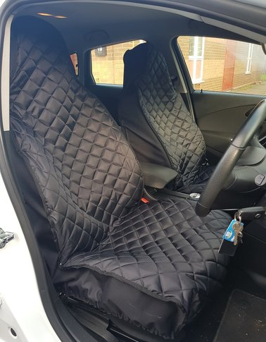 DELUXE WATERPROOF GREY FULL SET i SEAT COVERS TO FIT A PEUGEOT 207 CAR